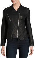 Blank NYC Asymmetrical Faux Leather Motorcycle Jacket