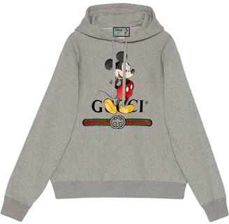 Gucci x Disney Mickey Mouse logo hoodie