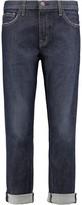 Current/Elliott The Fling Mid-Rise Bootcut Jeans