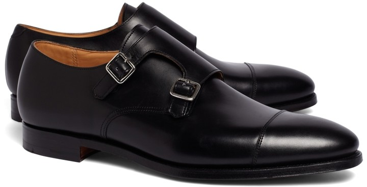 Brooks Brothers Peal & Co. Double Monk Strap Shoes