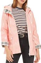 Topshop PETITE Vinyl Maisie Jacket