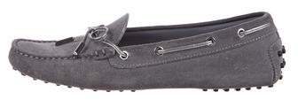 Tod's Suede Driving Moccasins