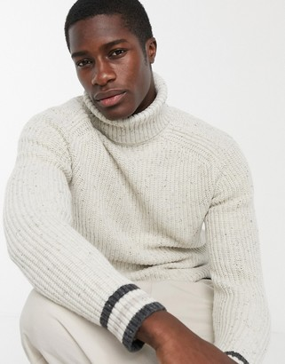 Ted Baker son chunky roll neck jumper