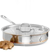 All-Clad CLOSEOUT! Copper-Core 3 Qt. Covered Saute Pan