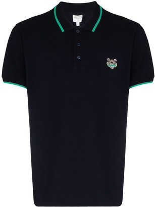 Kenzo Fitted Tiger Polo Shirt