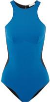Stella McCartney Iconic Color Block Swimsuit - Royal blue