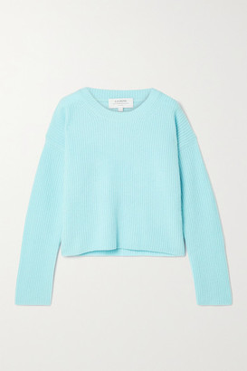La Ligne Toujours Ribbed Cashmere Sweater - Sky blue