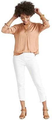 Nic+Zoe Destination Blouse (Soft Copper) Women's Clothing