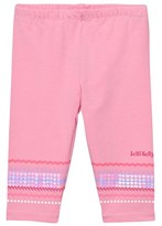 Lelli Kelly Kids Pink Sequin Branded Leggings