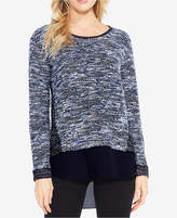 Vince Camuto TWO By Layered-Look Sweater