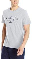 Lacoste Men's Short Sleeve Sailing Club Graphic Regular Fit T-Shirt