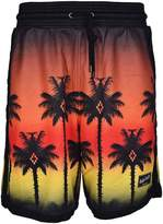 Marcelo Burlon County of Milan Palm Sunset Shorts