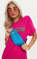 PrettyLittleThing Turquoise Basic Bum Bag