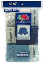 Fruit of the Loom Big Boys' Assorted Boxer Brief