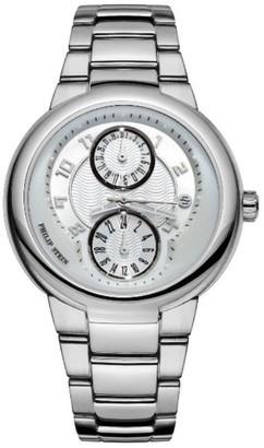 Philip Stein Teslar 31-AW-SSLadies WatchAnalogue QuartzWhite DialSteel Bracelet Silver