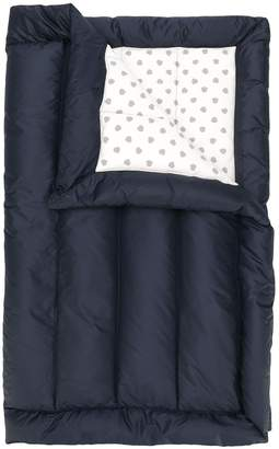 Moncler padded sleeping bag