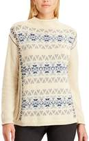 Chaps Women's Fairisle Mockneck Sweater