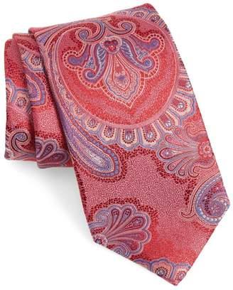 Nordstrom Meranda Paisley X-Long Silk Tie