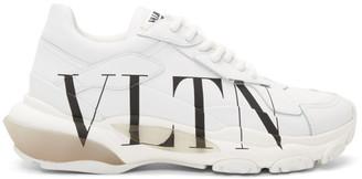 Valentino White Garavani VLTN Bounce Sneakers