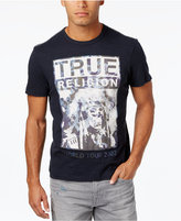 True Religion Men's World Tour Graphic Print T-Shirt