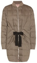 Moncler Gamme Rouge Down-filled cotton and silk coat