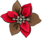 Marni flower brooch