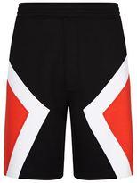 Neil Barrett Colour Block Neoprene Shorts