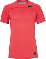 Nike Training - Pro HyperCool Mesh-Panelled Stretch-Jersey T-Shirt