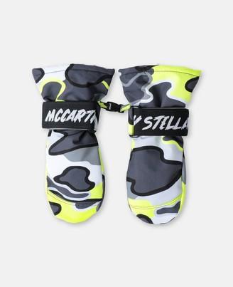 Stella Mccartney Kids Stella McCartney ski gloves