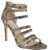 Nina Chelise Glitter Cage Sandals