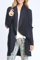 Mono B Cut Out Sleeve Cardigan