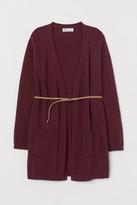 H&M Knit Cardigan with Belt