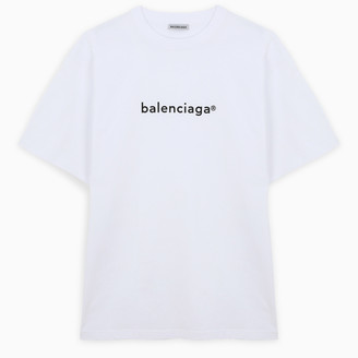 Balenciaga Oversized white/black t-shirt