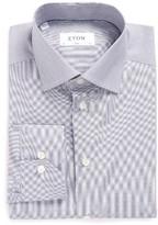 Eton Men's Slim Fit Stripe Dress Shirt