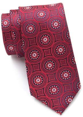Ted Baker Tonal Medallion Silk Tie