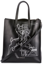Givenchy Stargate Bambi®; Medium Shopper Tote Bag, Black