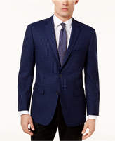 Vince Camuto Men's Slim-Fit Blue Check Sport Coat