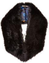 Biba Faux Fur Lined Scarf