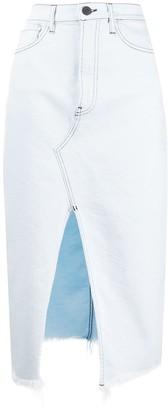 3x1 Denim Midi Skirt