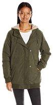 Obey Women's Stryker Sherpa Lined Jacket