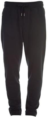 Dolce & Gabbana Plaque Cotton Sweatpants