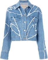 Christian Wijnants patchwork denim jacket