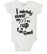 """Cute Harry Potter Inspired Baby Onesie """"Mischief Managed"""" RB Clothing Co"""