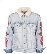 Levi's Floral Sleeve Shirt