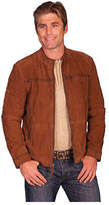 Scully Men's Lamb Suede Jacket 94 - Brown Western Clothing