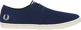 Fred Perry Byron Low Twill Trainers, Navy