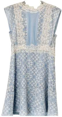 Sandro SS18 Blue Lace Dress for Women