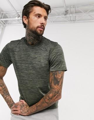 adidas Training gradient t-shirt in green