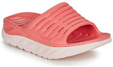 Hoka One One ORA Recovery Slide women's Mules / Casual Shoes in Pink