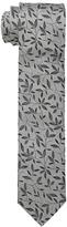 Dolce & Gabbana Leaf Print Regular Width Silk Tie